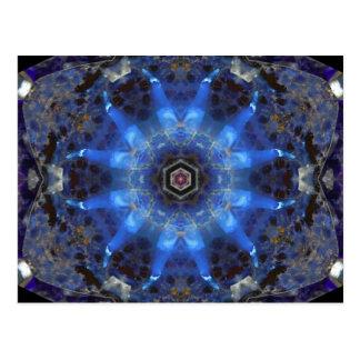 オパールの星の曼荼羅 ポストカード