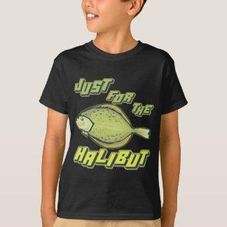 オヒョウの魚釣りのTシャツおよびギフトのため Tシャツ