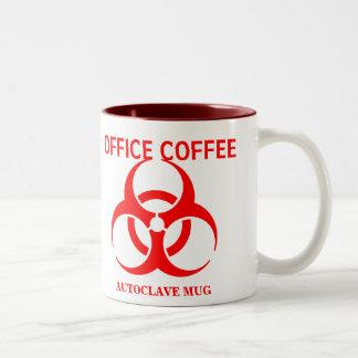 オフィスのコーヒーオートクレーブのマグ ツートーンマグカップ