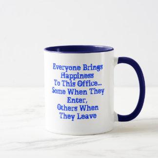 オフィスのユーモアのマグ マグカップ