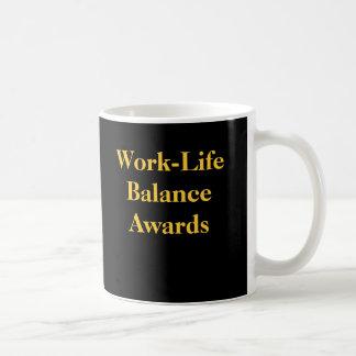 オフィスの悪戯の仕事の生命バランス賞 コーヒーマグカップ