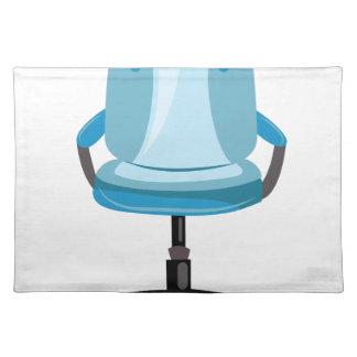 オフィスの椅子 ランチョンマット