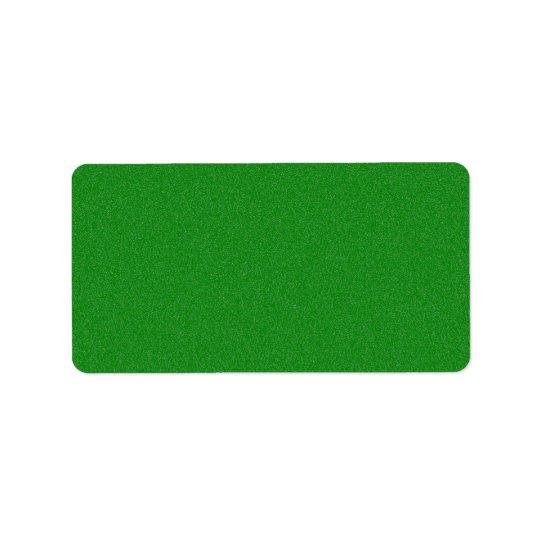 オフィスの緑のスターダスト 宛名ラベル