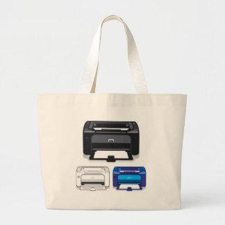 オフィスプリンター ラージトートバッグ
