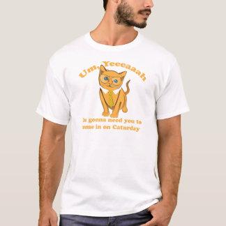 オフィス猫Caturday Tシャツ