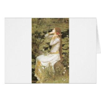 オフェリア-ジョン・ウィリアム・ウォーターハウス(1894年) カード