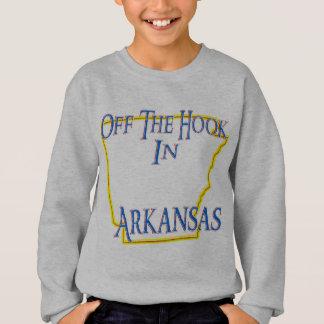 オフフックの状態のアーカンソー- スウェットシャツ