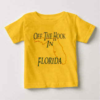 オフフックの状態のフロリダ- ベビーTシャツ