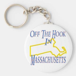 オフフックの状態のマサチューセッツ- キーホルダー