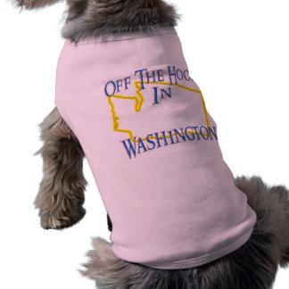 オフフックの状態のワシントン州- ペット服