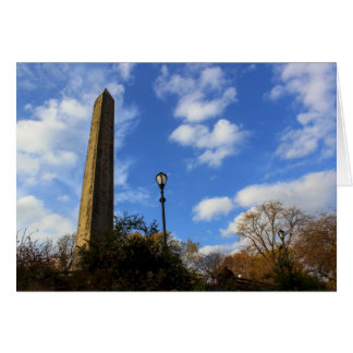 オベリスク、セントラル・パーク、NYCのCleopatraの針 カード
