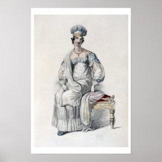 オペラ服、AckermannのReposiからのファッションプレート ポスター