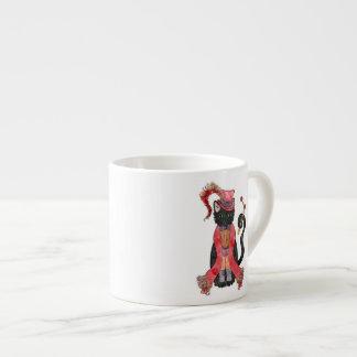 オペラ猫のエスプレッソのコップ エスプレッソカップ