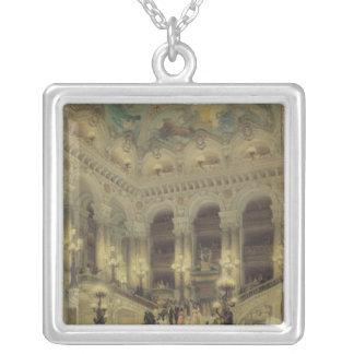 オペラ1877年の階段 シルバープレートネックレス