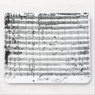 オペラ「Don GiovanniのMs.1548 Ouverture マウスパッド