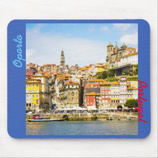 オポルト都市、ポルトガルからの記念品 マウスパッド