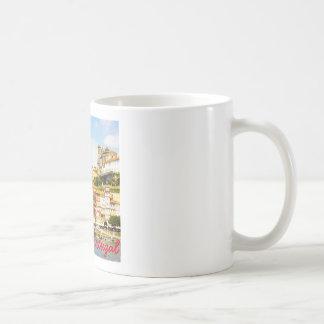 オポルト、ポルトガルの記念品 コーヒーマグカップ