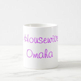 オマハのコーヒー・マグの実質の主婦 コーヒーマグカップ