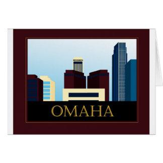 オマハのスカイライン カード