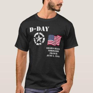 オマハのビーチ、ノルマンディーのTシャツ Tシャツ