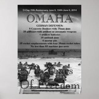 オマハの攻撃開始日第70 ポスター