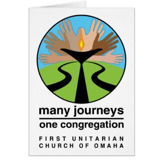 オマハの最初ユニテリアン教会 カード