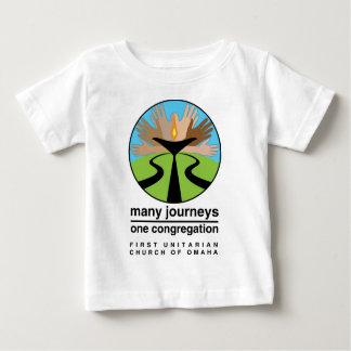 オマハの最初ユニテリアン教会 ベビーTシャツ