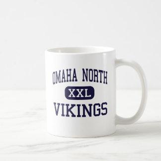 オマハ北の-バイキング-高オマハネブラスカ コーヒーマグカップ