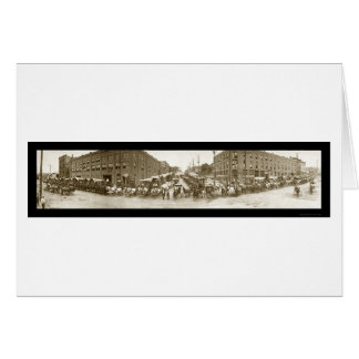 オマハ商人の写真1908年 カード