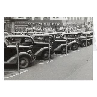 オマハ1938年の自動車 カード