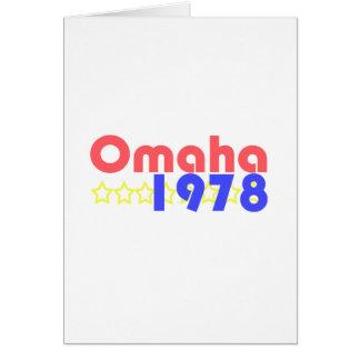 オマハ1978年 カード
