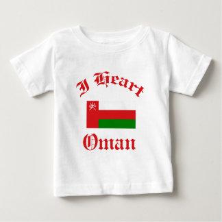 オマーンのデザイン ベビーTシャツ