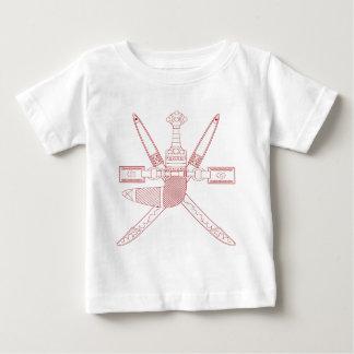 オマーンの国章 ベビーTシャツ