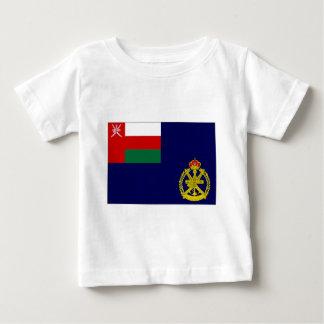 オマーンの海軍旗 ベビーTシャツ