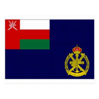 オマーンの海軍旗 ポストカード