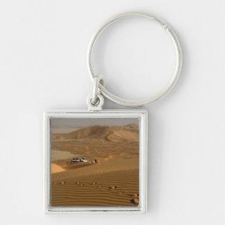 オマーンの砂丘で運転する摩擦AlのKhaliの砂漠 キーホルダー