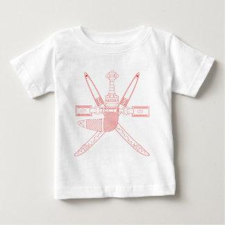 オマーンの紋章 ベビーTシャツ