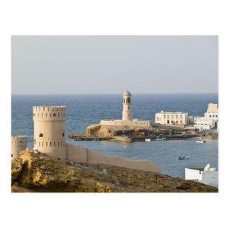 オマーンのSharqiyaの地域、Sur。 Al Ayajhのタワー ポストカード