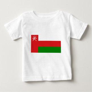 オマーン(علمعُمان)の旗-オマーンの旗 ベビーTシャツ
