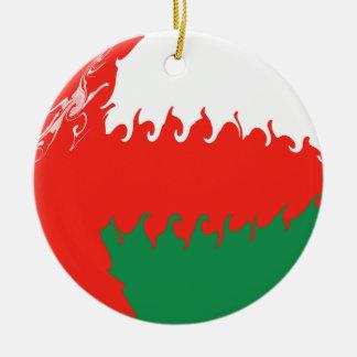 オマーン|すごい|旗 クリスマスツリーオーナメント