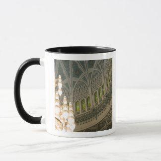 オマーン、マスカットのサルタンのQaboosのモスク マグカップ