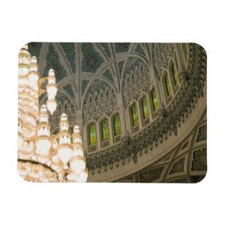 オマーン、マスカットのサルタンのQaboosのモスク マグネット