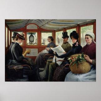 オムニバス、1880年 ポスター