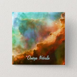 オメガの星雲の拡大された地域 缶バッジ