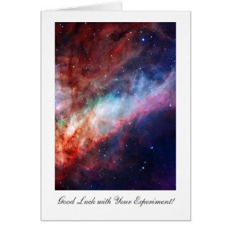 オメガの星雲、Messier17の実験の幸運 カード