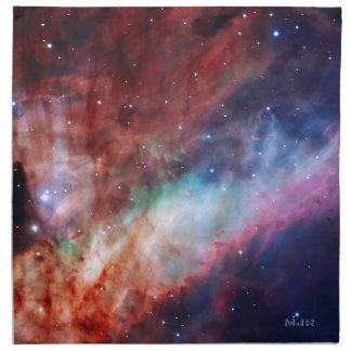 オメガの署名された星雲-私達のすばらしい宇宙 ナプキンクロス