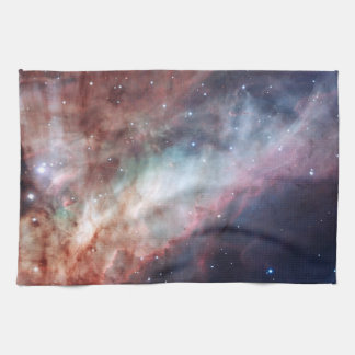 オメガまたは白鳥の星雲M17 キッチンタオル