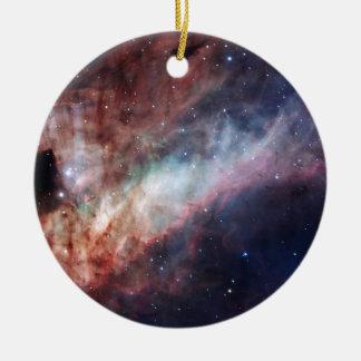 オメガまたは白鳥の星雲M17 セラミックオーナメント