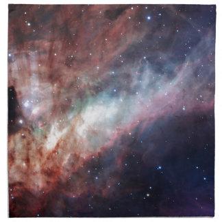 オメガまたは白鳥の星雲M17 ナプキンクロス