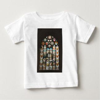 オランダからのステンドグラス窓 ベビーTシャツ